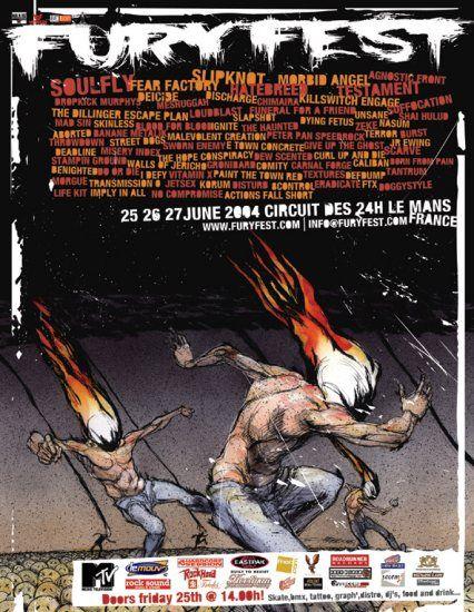Fury Fest 2004 – 25/26/27 juillet 2004 – Le Mans