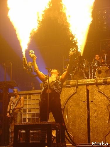 Rammstein – 11 février 2005 – Bercy – Paris