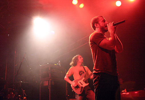 The Dillinger Escape Plan – 17 mars 2005 – Orléans