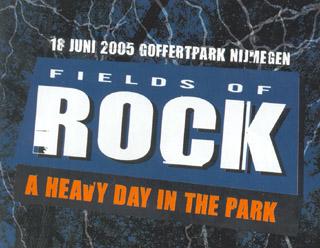 Fields of Rock Festival – 18 juin 2005 – Pays-Bas