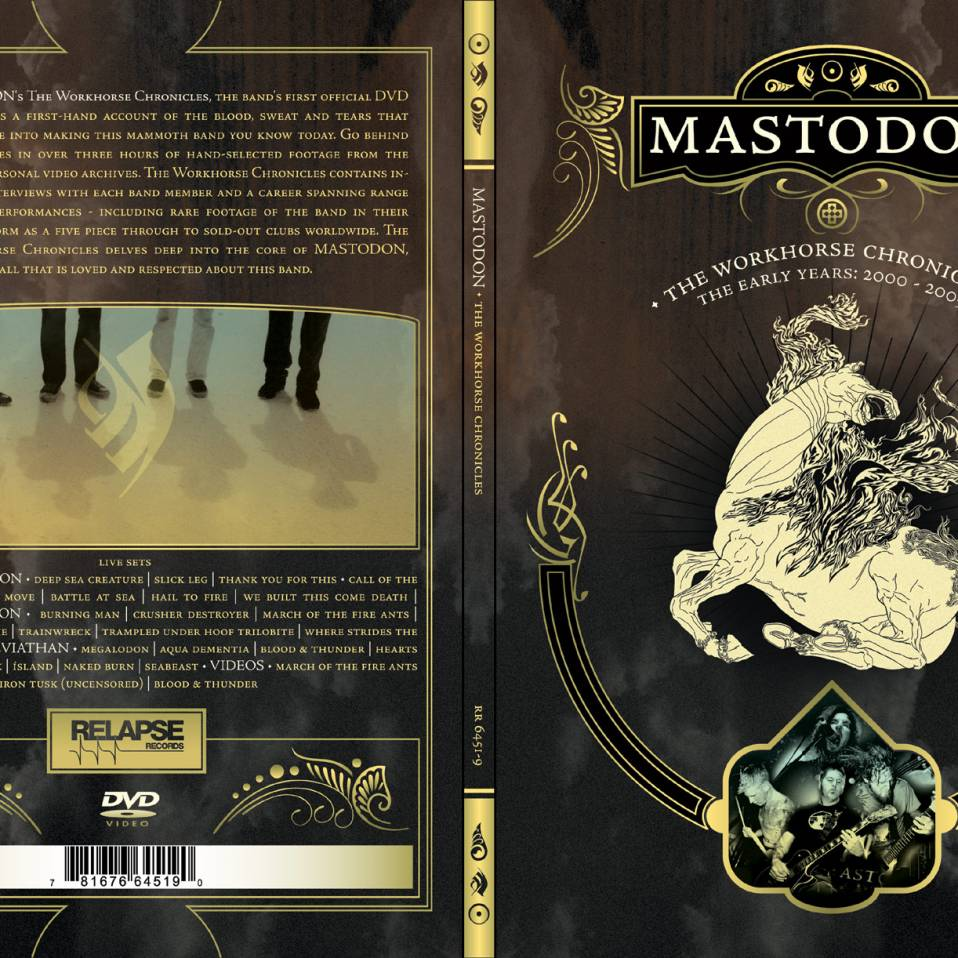 Mastodon – Workhorse Chronicles Dvd