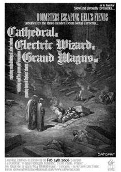 Cathedral + Electric Wizard + Grand Magus