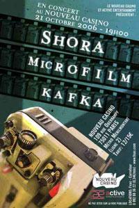 Shora + Microfilm + Kafka