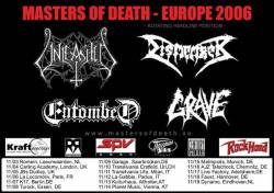Entombed + Dismember + Grave + Unleashed + Exterminator