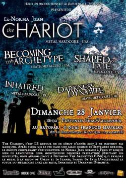 The Chariot + Becoming The Archetype + Shaped By Fate + Inhatred + Darkness Dynamite