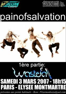 Pain Of Salvation + Wastefall