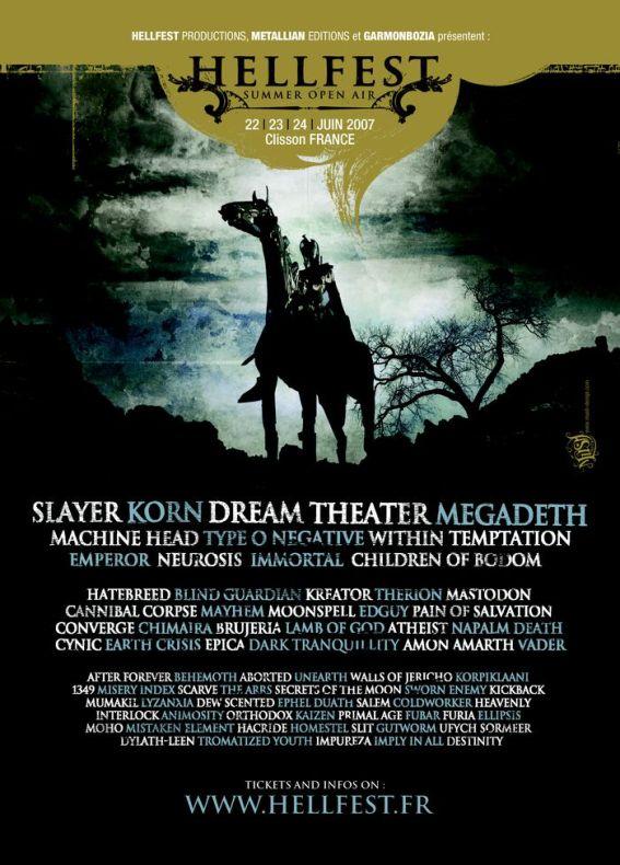 Hellfest 2007 – 22 juin 2007 – Hellfest – Clisson