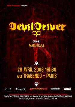 Devildriver + 3 Inches Of Blood