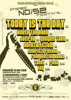 Noise Festival – Today Is The Day + Horse The Band + Genghis Tron + Jucifer + Nachtmystium + Zoroaster + Four Question Marks + Complete Failure + Tanen