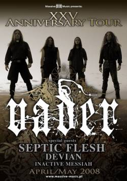 Vader + Septic Flesh + Inactive Messiah + Devian