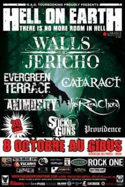 Walls Of Jericho + Evergreen Terrace + The Red Chord + Animosity + Cataract