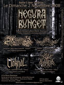 Negura Bunget + Kathaarsys + In Element + Aldaaron + Uoknal