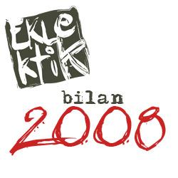 Bilan annuel 2008