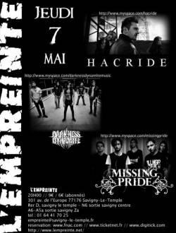 Hacride + Darkness Dynamite