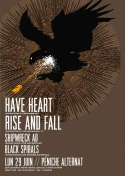 Have Heart + Rise And Fall + Shipwreck