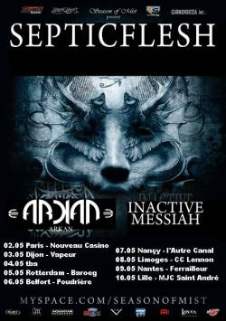 Septic Flesh + Arkan + Inactive Messiah