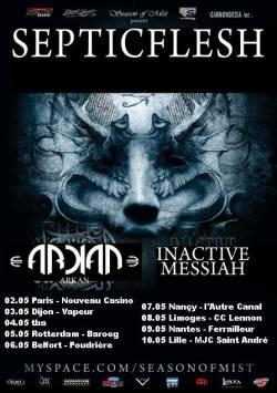 Septic Flesh + Arkan + Inactive Messiah