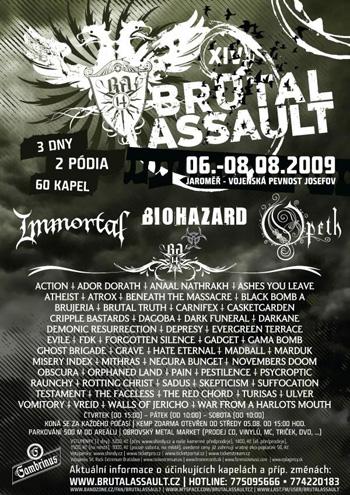 Brutal Assault Festival 2009 – 07 août 2009 – République Tchèque