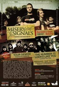 Misery Signals + The Number Twelve Looks Like You + Your Demise