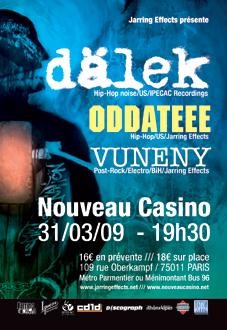 Dälek + Oddateee + Vuneny
