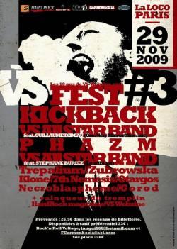 Kickback + Phazm + Trepalium + Zubrowska + Klone + 7th Nemesis + Otargos + Necrobalspheme + Gorod