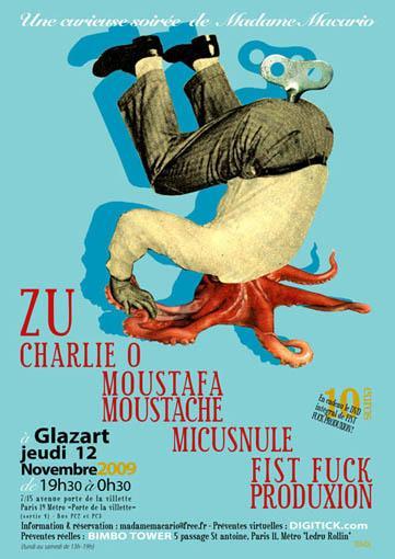 Zu – 12 novembre 2009 – Glaz'art – Paris