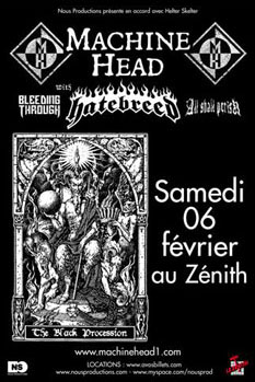 Machine Head + Hatebreed + All Shall Perish + Bleeding Through