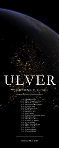 Ulver + Void ov Voices – 11 février 2010 – Cigale – Paris