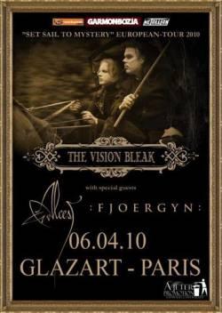The Vision Bleak + Alcest + Fjoergyn