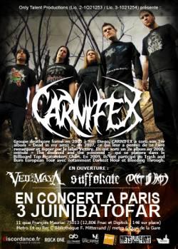 Carnifex + Veil of Maya + Suffokate