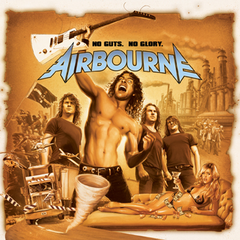 Airbourne – No Gut, No Glory