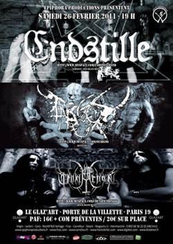 Endstille + Otargos + Cruxifiction