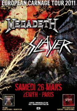 Slayer + Megadeth