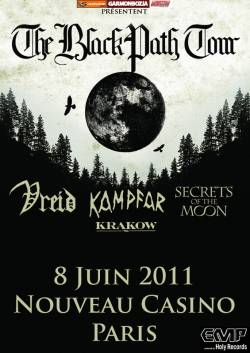 Vreid + Kampfar + Secrets of the Moon + The Batallion