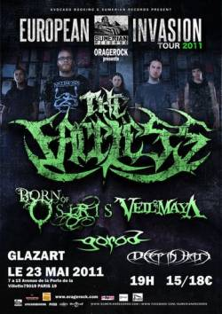 The Faceless + Born of Osiris + Veil of Maya + Gorod