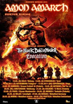 Amon Amarth + The Black Dahlia Murder