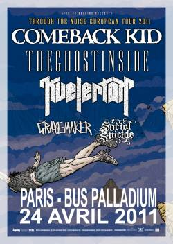 Comeback Kid + The Ghost Inside + Kvelertak + Grave Maker + Social Suicide