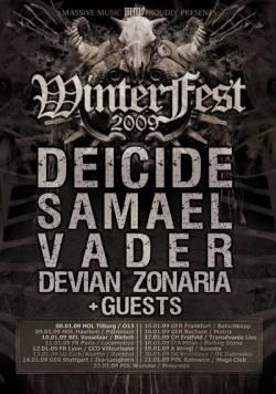 Deicide + Samael + Vader + Devian + Zonaria