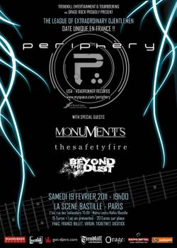 Periphery + Monuments + The Safety Fire