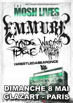 Emmure + War From A Harlots Mouth + Winds Of Plague + Iwrestledabearonce