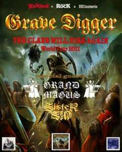 Grave Digger + Grand Magus + Sister Sin