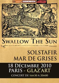 Swallow the Sun + Solstafir + Mar de Grises