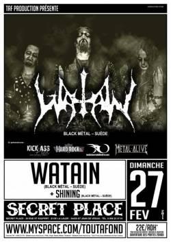 Watain + Shining