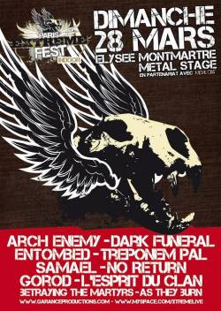 Paris Extreme Fest – Metal Stage