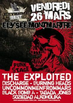 Paris Extreme Fest – Punk Stage