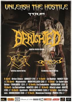 Benighted + Kronos + Gorod