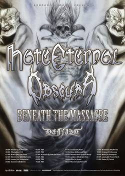 Hate Eternal + Obscura + Beneath The Massacre