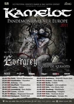 Kamelot + Evergrey
