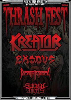 Kreator + Exodus + Death Angel