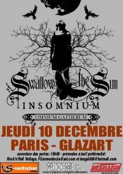 Swallow the Sun + Insomnium + Omnium Gatherum